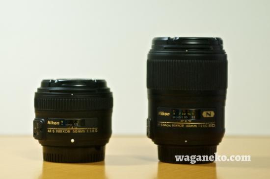 AF-S NIKKOR 50mm f/1.8G & AF-S Micro NIKKOR 60mm F2.8G ED