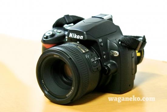 D40x + AF-S NIKKOR 50mm f/1.8G