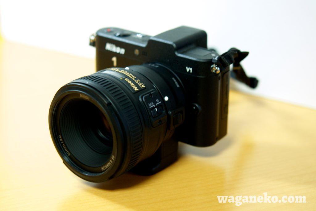 Nikon 1 V1 + AF-S NIKKOR 50mm f/1.8G